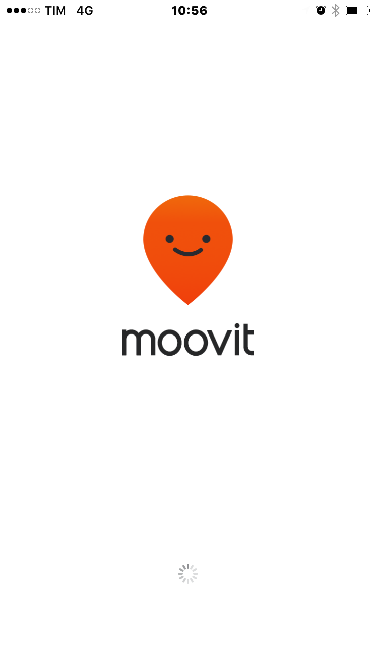 screenshot di Moovit