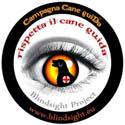 logo campagna cane guida Blindsigh clicca per accedere